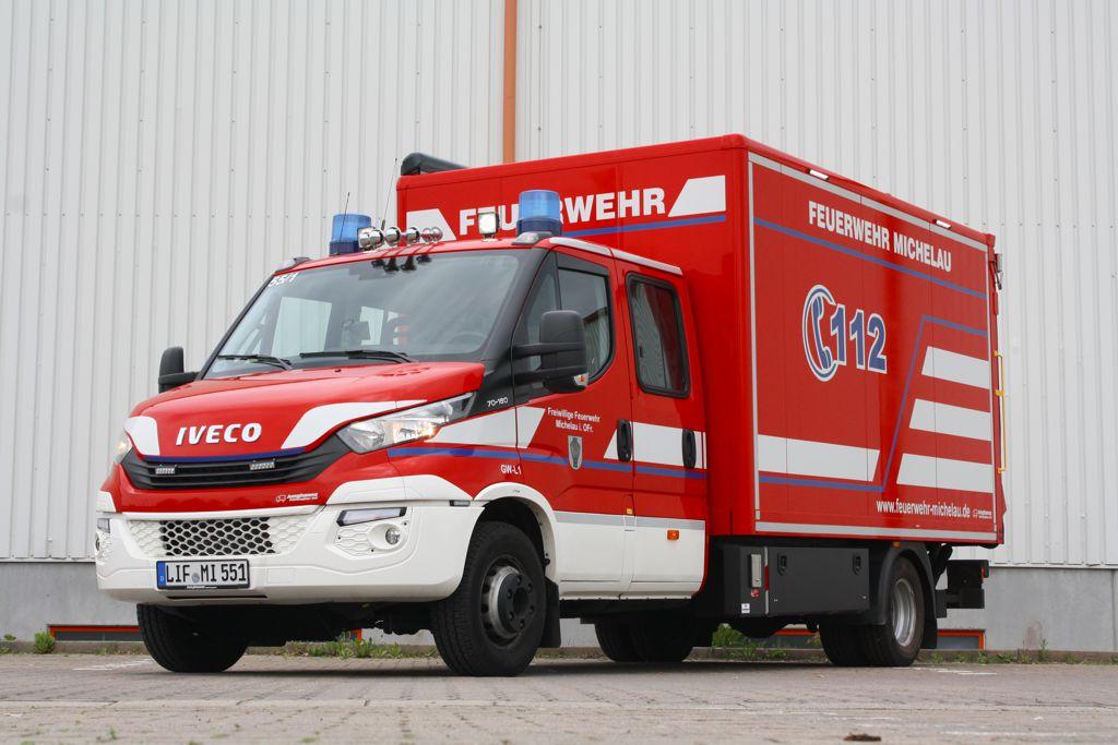 Gerätewagen Logistik GW-L1 - unser Nachschubfahrzeug